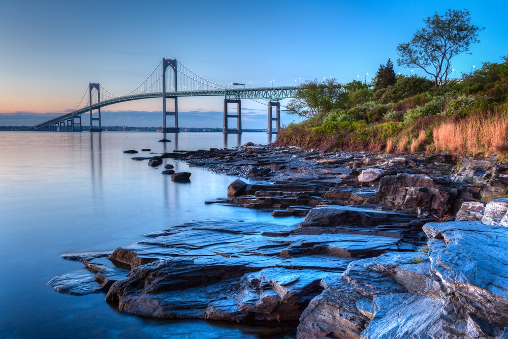 One of the best things to do in Newport RI is to take in the scenic oceanside views like this