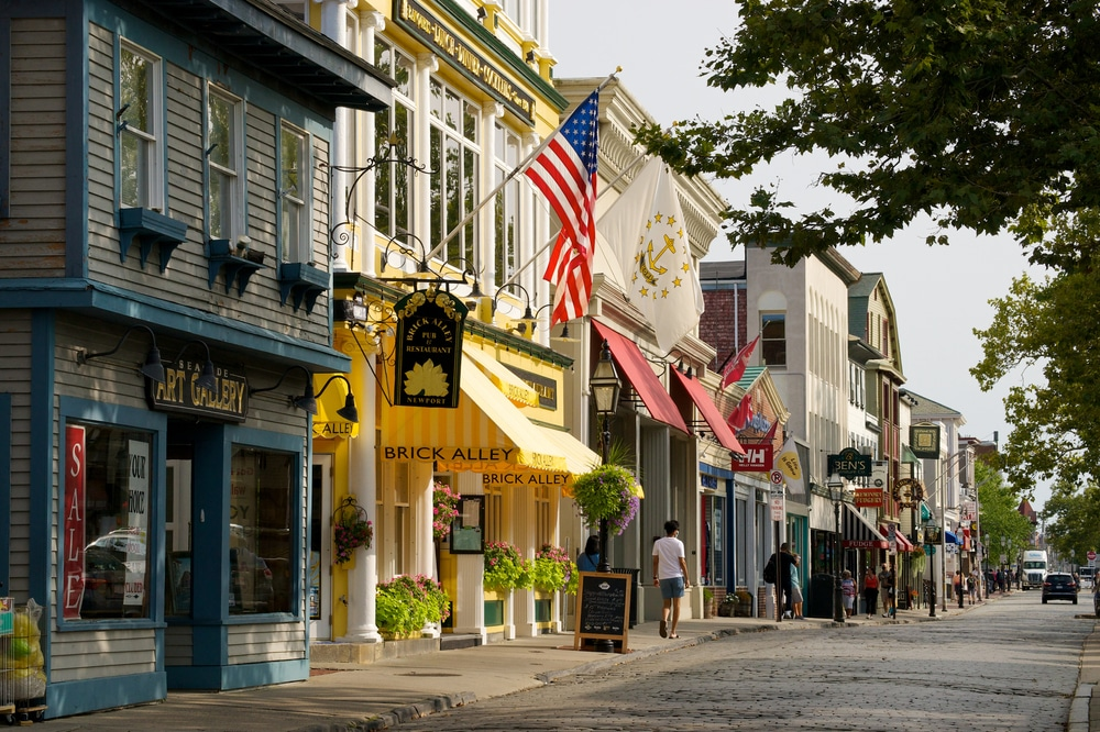 Enjoy dining at some of the Top NEwport RI Restaurants Near our Bed and Breakfast