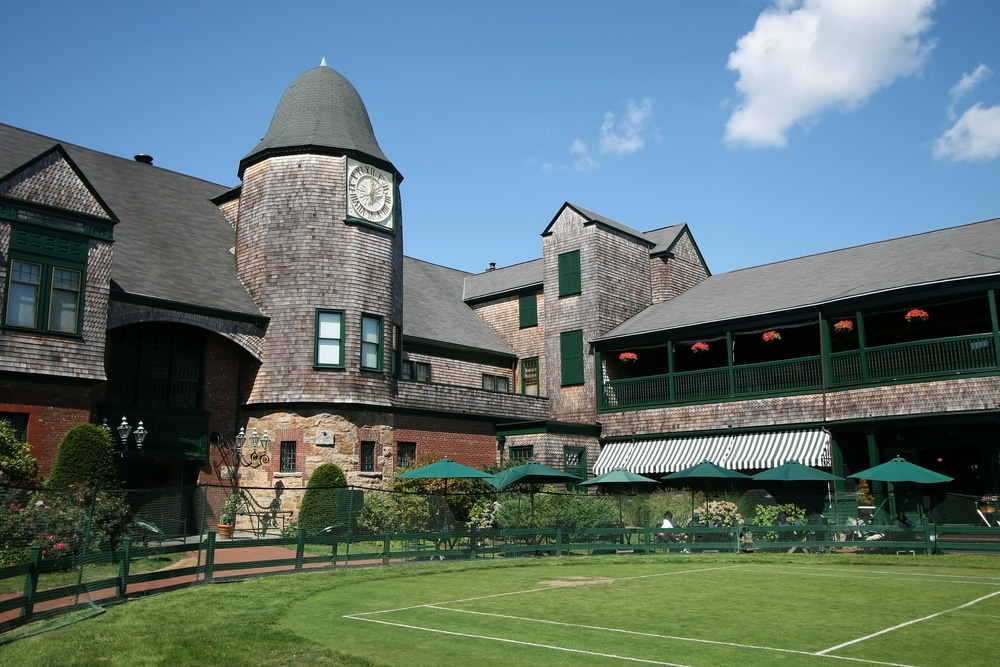 Embrace the history of Tennis at the International Tennis Hall of Fame in Newport RI