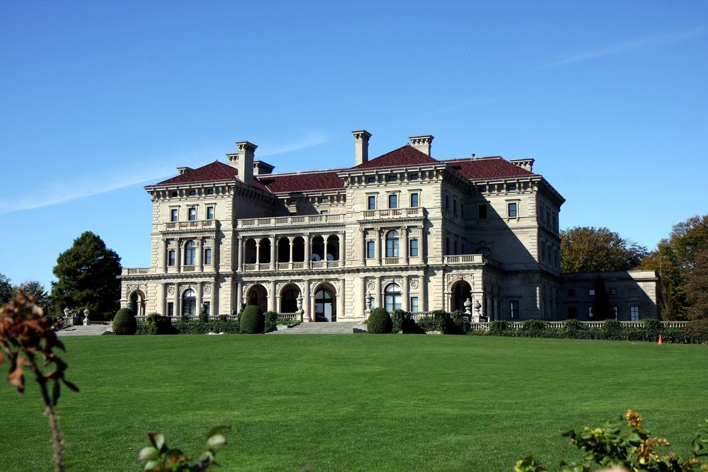 visit the incredible Newport Mansions While staying at our Bed and Breakfast This Fall